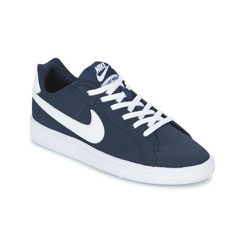 Čevlji  Otroci Nizke superge Nike COURT ROYALE GRADE SCHOOL Modra / Bela