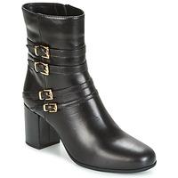 Čevlji  Ženske Gležnjarji Unisa OPRA Črna