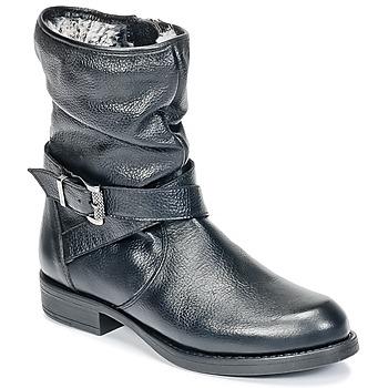 Čevlji  Deklice Polškornji Unisa GADIN Črna