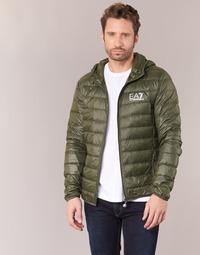 Oblačila Moški Puhovke Emporio Armani EA7 TRAIN CORE ID DOWN LIGHT HD Kaki