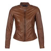 Oblačila Ženske Usnjene jakne & Sintetične jakne Oakwood 62578 Kamel