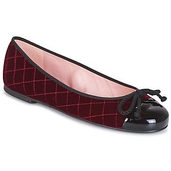 Čevlji  Ženske Gležnjarji Pretty Ballerinas  Bordo
