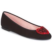 Čevlji  Ženske Gležnjarji Pretty Ballerinas  Črna