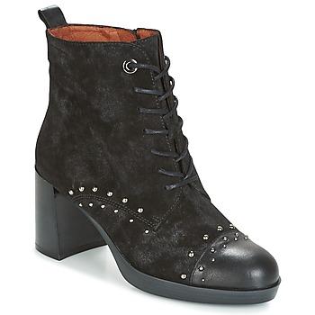 Čevlji  Ženske Gležnjarji Hispanitas DREW 17 Črna