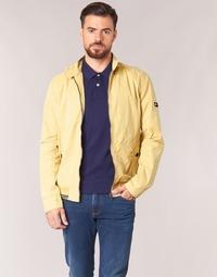 Oblačila Moški Jakne Tommy Jeans THDM BASIC HARRINGTON Bež