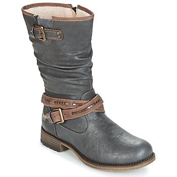 Čevlji  Ženske Mestni škornji    Mustang ISALBA Siva