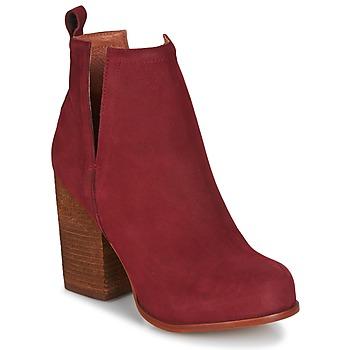 Čevlji  Ženske Gležnjarji Jeffrey Campbell Oshea nubuck Bordo