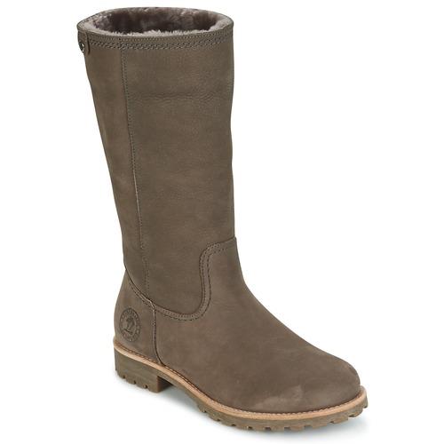 Čevlji  Ženske Mestni škornji    Panama Jack BAMBINA Siva