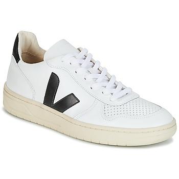 Čevlji  Nizke superge Veja V-10 Bela / Črna