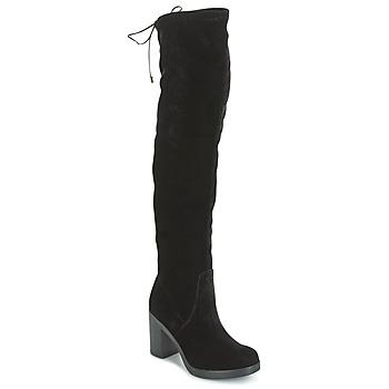 Čevlji  Ženske Visoki škornji Tosca Blu ST MORITZ Črna