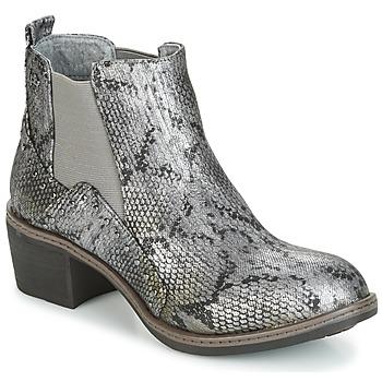 Čevlji  Ženske Gležnjarji LPB Shoes CAROLE Siva