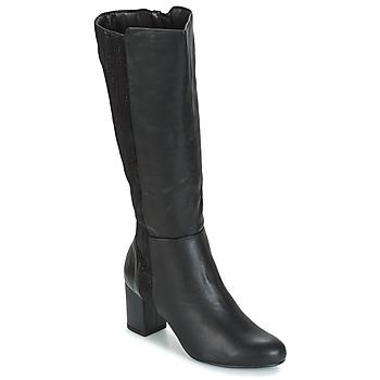 Čevlji  Ženske Mestni škornji    Moony Mood HINA Črna