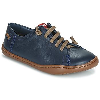 Čevlji  Dečki Čevlji Derby Camper PEU CAMI Modra