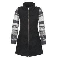 Oblačila Ženske Plašči Desigual GRAME Črna