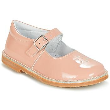 Čevlji  Deklice Balerinke Citrouille et Compagnie HIVETTE Rožnata