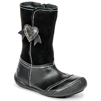 Čevlji  Deklice Mestni škornji    Citrouille et Compagnie HYDIL Črna