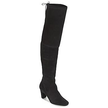 Čevlji  Ženske Visoki škornji Betty London HENNA Črna