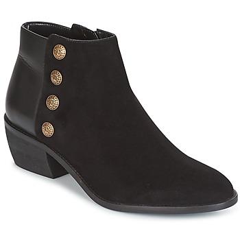 Čevlji  Ženske Gležnjarji Dune London PANELLA Črna