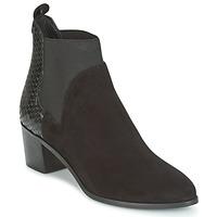Čevlji  Ženske Gležnjarji Dune London OPRENTICE Črna