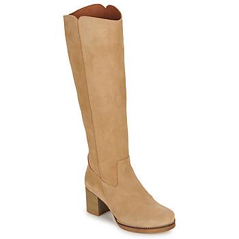 Čevlji  Ženske Mestni škornji    Casual Attitude HAPI Bež