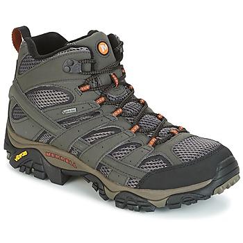 Čevlji  Moški Pohodništvo Merrell MOAB 2 MID GTX Szary