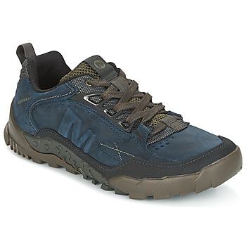 Čevlji  Moški Pohodništvo Merrell ANNEX TRAK LOW Modra
