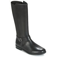 Čevlji  Deklice Mestni škornji    Start Rite GRACE LONG Črna