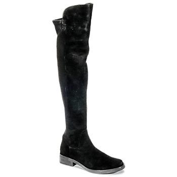 Čevlji  Ženske Visoki škornji Buffalo NUPAN Črna