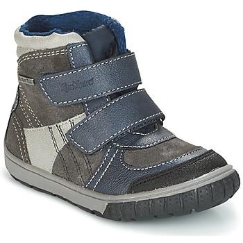 Čevlji  Dečki Škornji za sneg Kickers SITROUILLE Siva / Modra