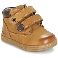 Čevlji  Dečki Polškornji Kickers TACKEASY Kamel