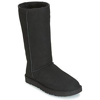 Čevlji  Ženske Mestni škornji    UGG CLASSIC TALL II Črna