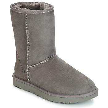 Čevlji  Ženske Polškornji UGG CLASSIC SHORT II Siva