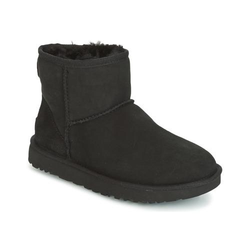 Čevlji  Ženske Polškornji UGG CLASSIC MINI II Črna