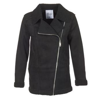 Oblačila Ženske Plašči Betty London HARMI Črna
