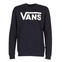 Oblačila Moški Puloverji Vans VANS CLASSIC CREW Črna