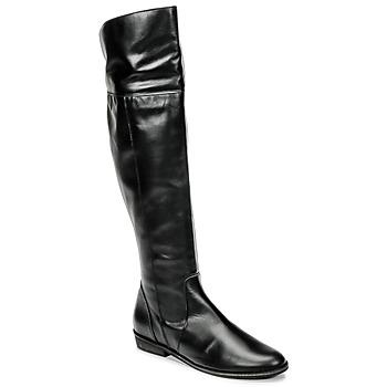 Čevlji  Ženske Visoki škornji So Size HOLA Črna
