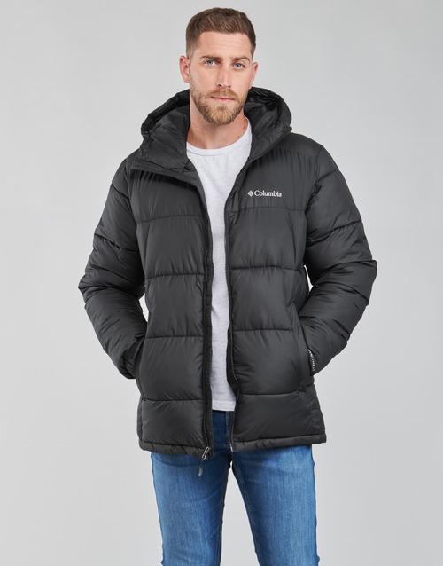 Oblačila Moški Puhovke Columbia PIKE LAKE HOODED JACKET Črna