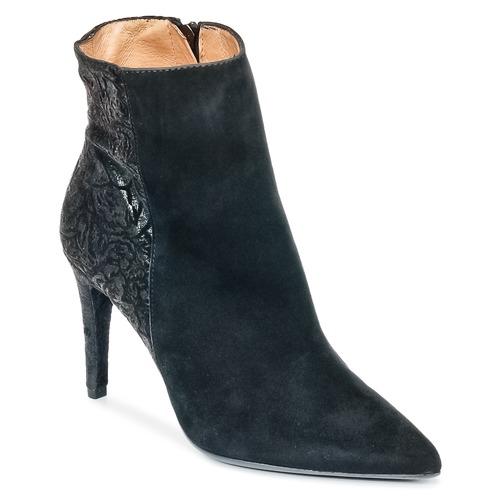 Čevlji  Ženske Gležnjarji Fericelli HOLGI Črna
