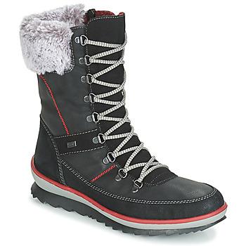 Čevlji  Ženske Škornji za sneg Rieker BISKA Črna