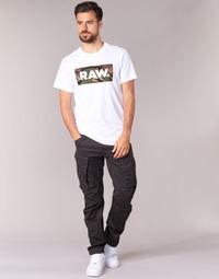 Oblačila Moški Hlače cargo G-Star Raw ROVIC ZIP 3D TAPERED Raven