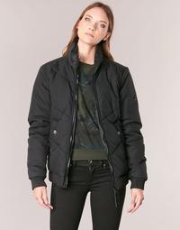 Oblačila Ženske Jakne G-Star Raw STRETT CHEVRON JKT Črna