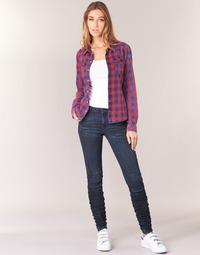Oblačila Ženske Jeans skinny G-Star Raw 5620 STAQ 3D MID SKINNY WMN Modra