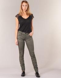 Oblačila Ženske Jeans skinny G-Star Raw 5620 STAQ 3D MID SKINNY COJ WMN Kaki