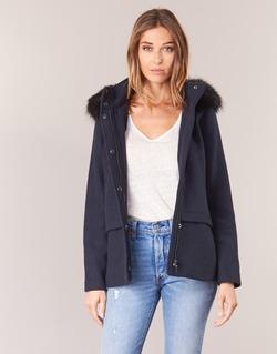 Oblačila Ženske Plašči Esprit CARDA Modra
