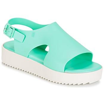 Čevlji  Ženske Sandali & Odprti čevlji Melissa HOTNESS Zelena / Bela