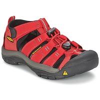 Čevlji  Otroci Športni sandali Keen KIDS NEWPORT H2 Rdeča / Siva