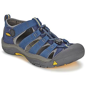 Čevlji  Dečki Športni sandali Keen KIDS NEWPORT H2 Modra / Siva