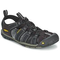 Čevlji  Moški Športni sandali Keen MEN CLEARWATER CNX Črna / Siva