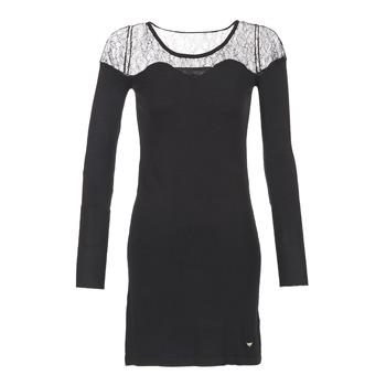 Oblačila Ženske Kratke obleke Les Petites Bombes DARTO Črna