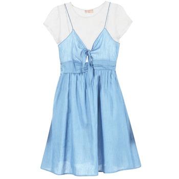 Oblačila Ženske Kratke obleke Moony Mood GLAM Modra